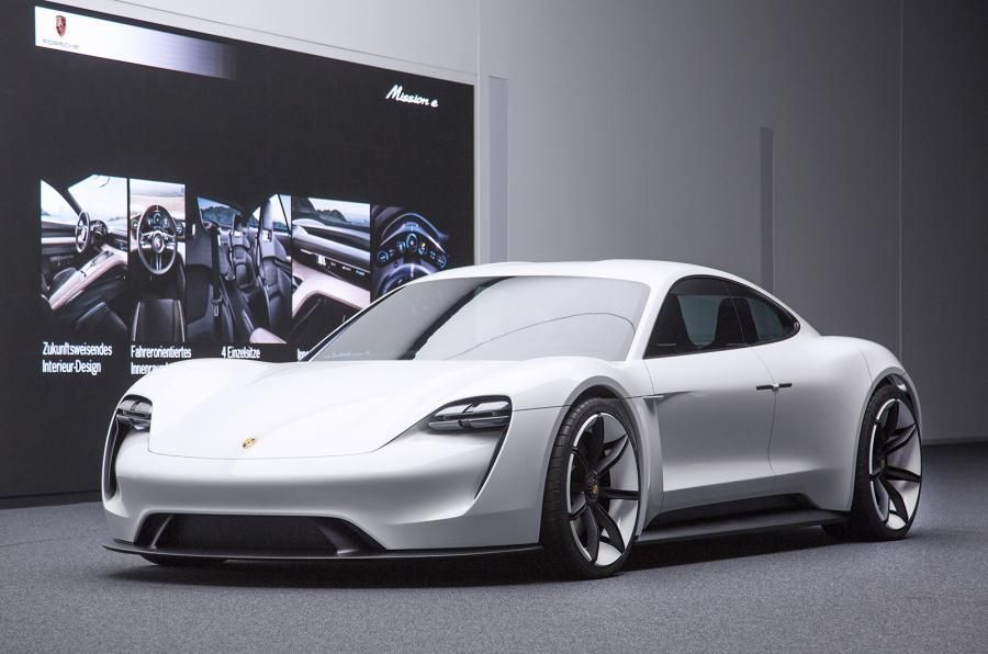 Porsche Mission E Concept An All Electric Sports Sedan Aimed Squarely At Dethroning The Tesla Model S As King Of Battery Ed Cool