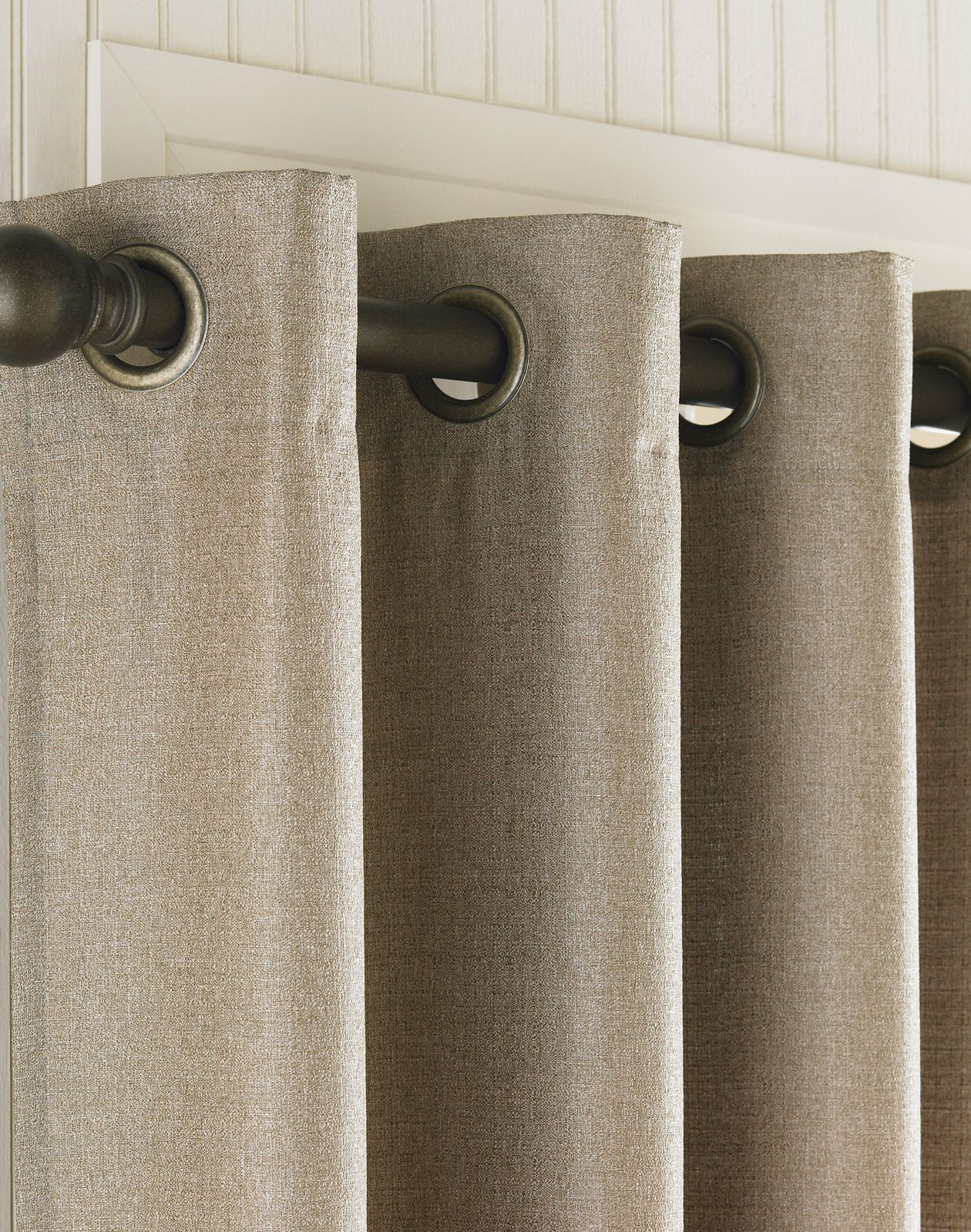 Grommet Top Curtains Are Lovely In A Contemporary Or Traditional Home