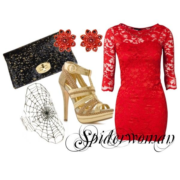 spiderwoman by marvel-ous on Polyvore