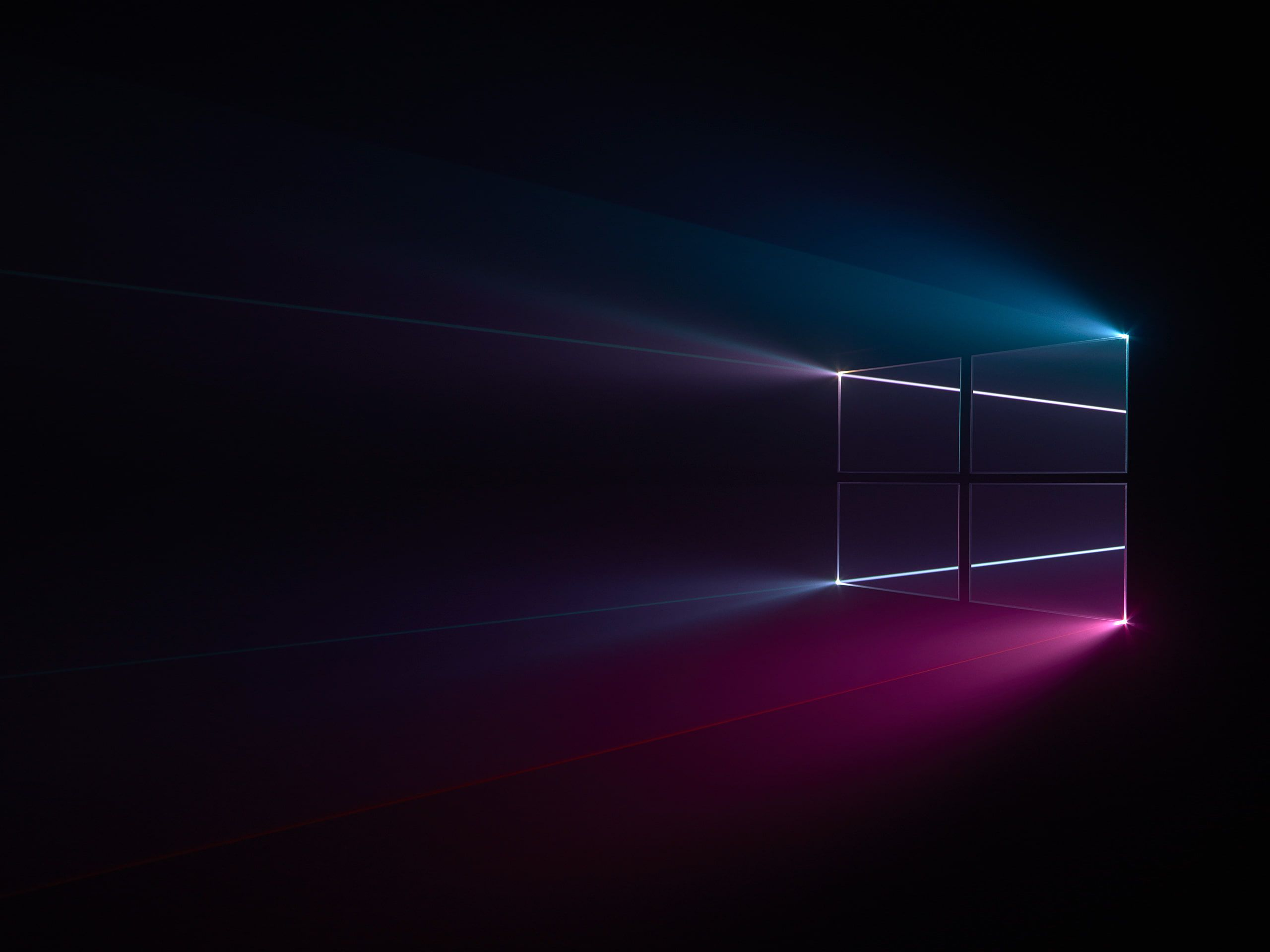 Windows Logo Blue Dark Windows 10 Pink 2k Wallpaper Hdwallpaper Desktop Wallpaper Windows 10 Windows 10 Desktop Backgrounds Windows Wallpaper
