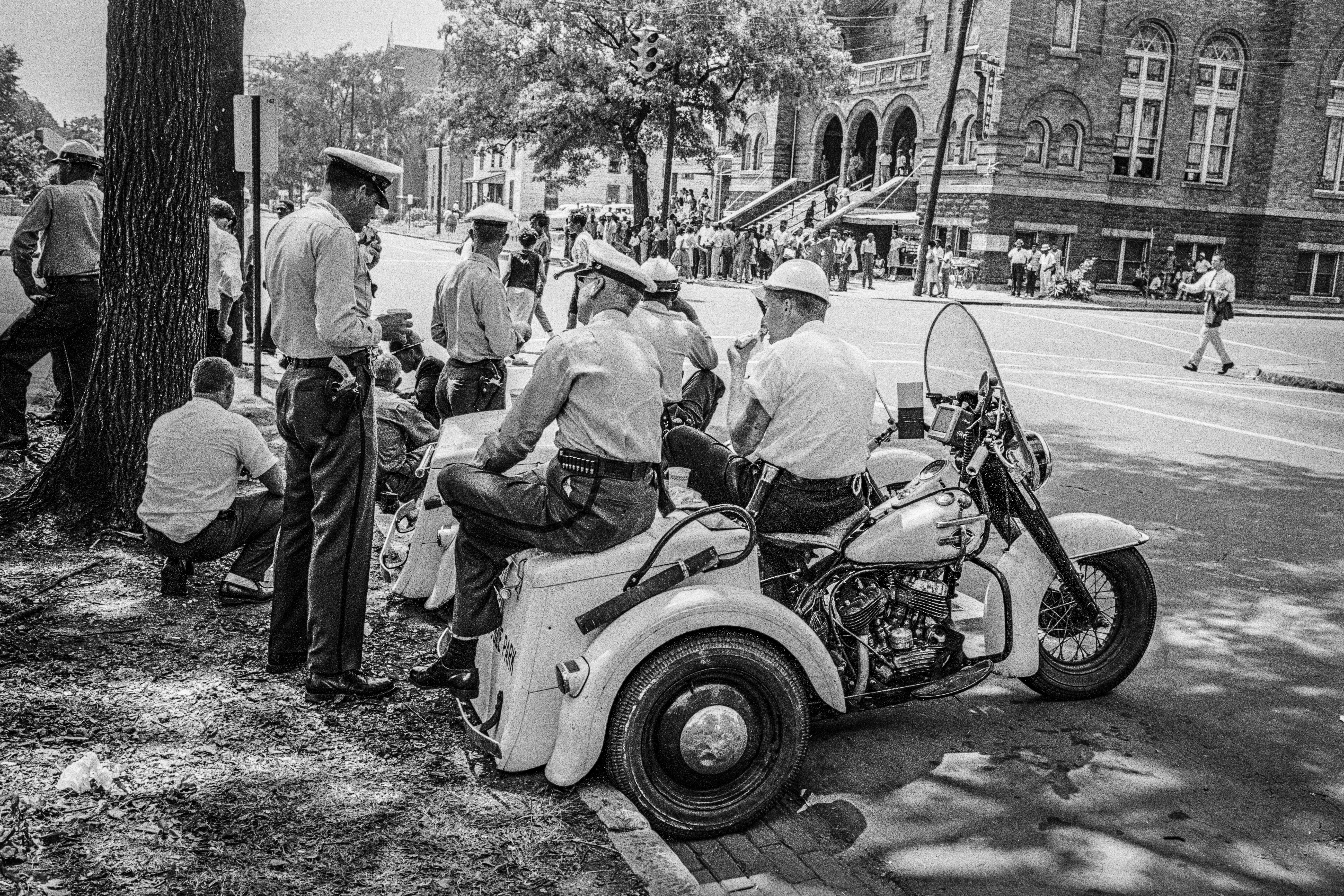 Unseen Photographs Of Civil Rights Conflict In Birmingham Alabama
