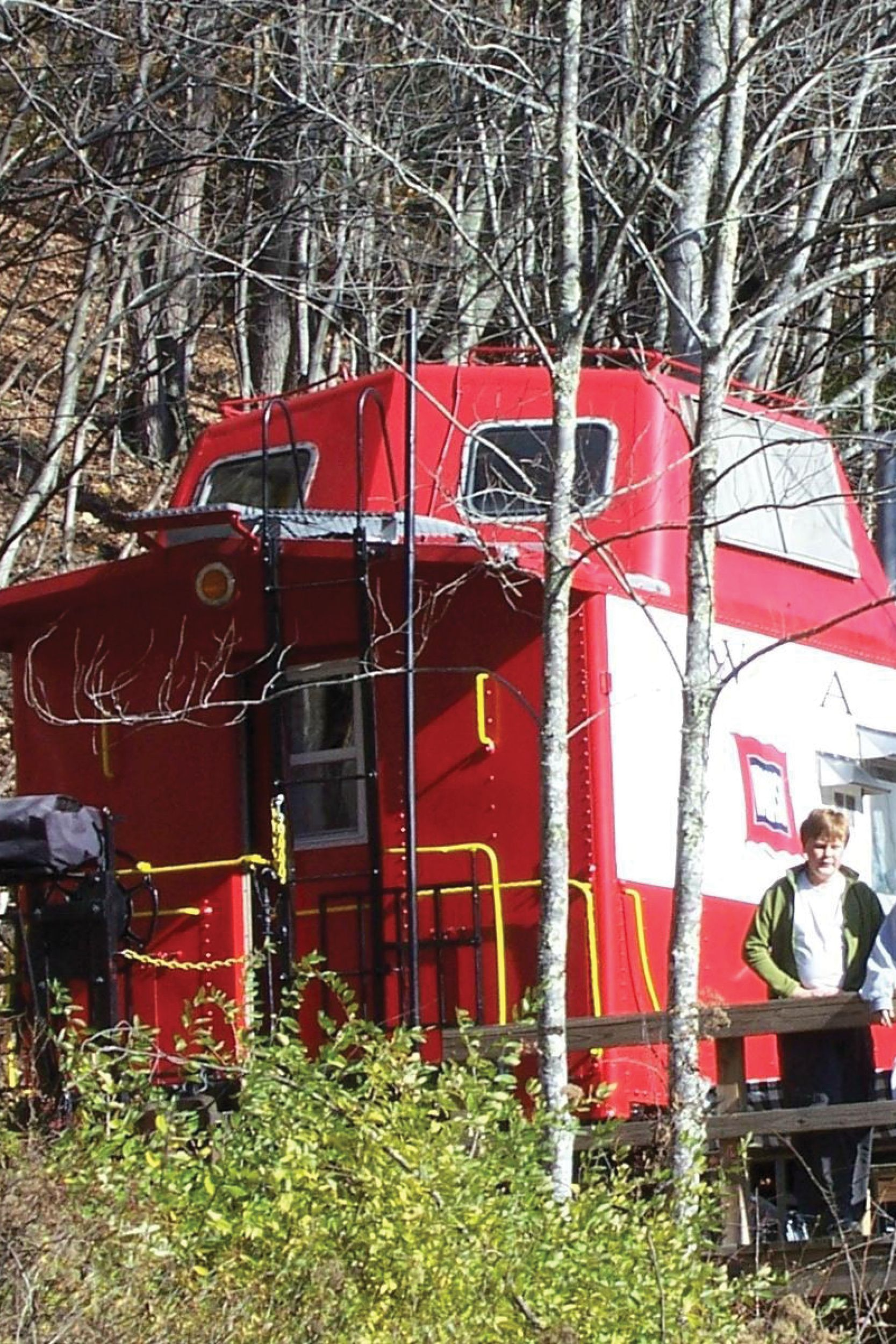 You'll Never Forget An Overnight In This Castaway Caboose