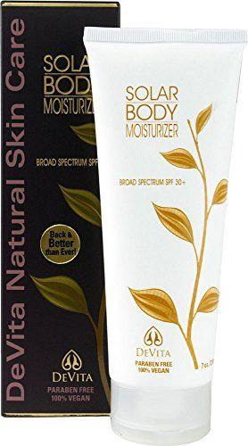 Devita Solar Body Block 30 With Shea Block 7 Fl Oz Click Image For More Details Note Amazon Affiliate Li Body Moisturizer Rosehip Oil For Skin Moisturizer