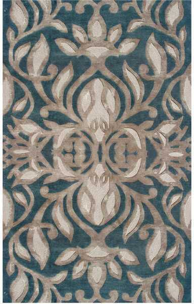 Area Rug With Teal And Brown And Tans   Yahoo Image Search Results