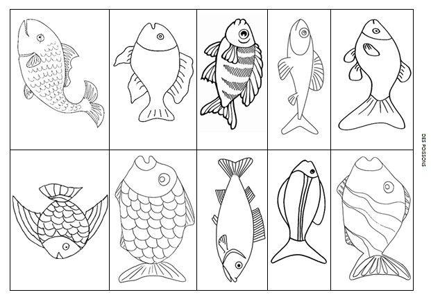 Le journal de chrys le th me des poissons en maternelle mer pinterest fish philosophy - Poisson avril maternelle ...