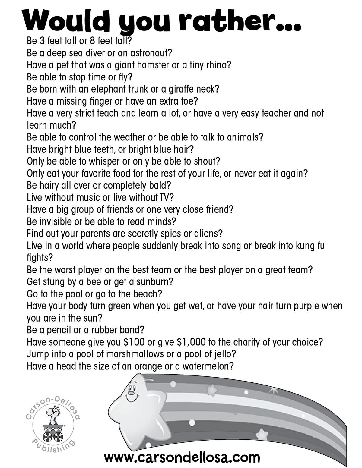 A Different Type Of Get To Know You Game For First Week Of