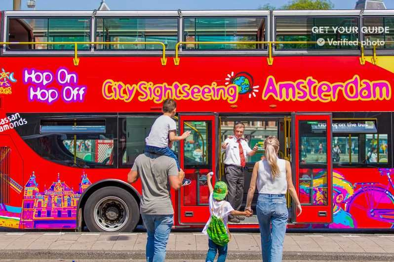 Amsterdam Hop On Hop Off Bus Tour With Boat Option Amsterdam