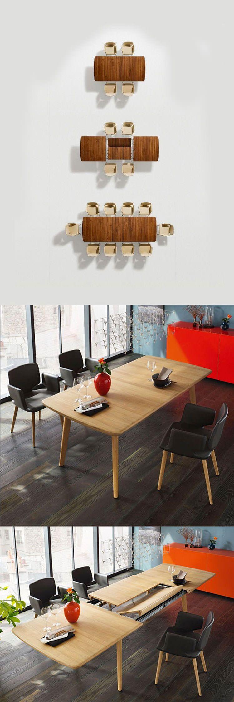 30 tavoli allungabili moderni dal design particolare for Mobili sala angolari