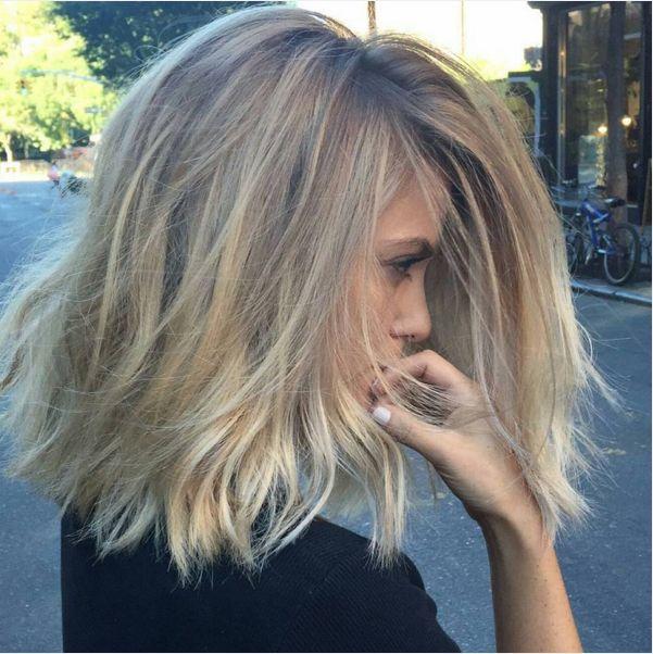 21+ Pinterest coiffure mi longue inspiration
