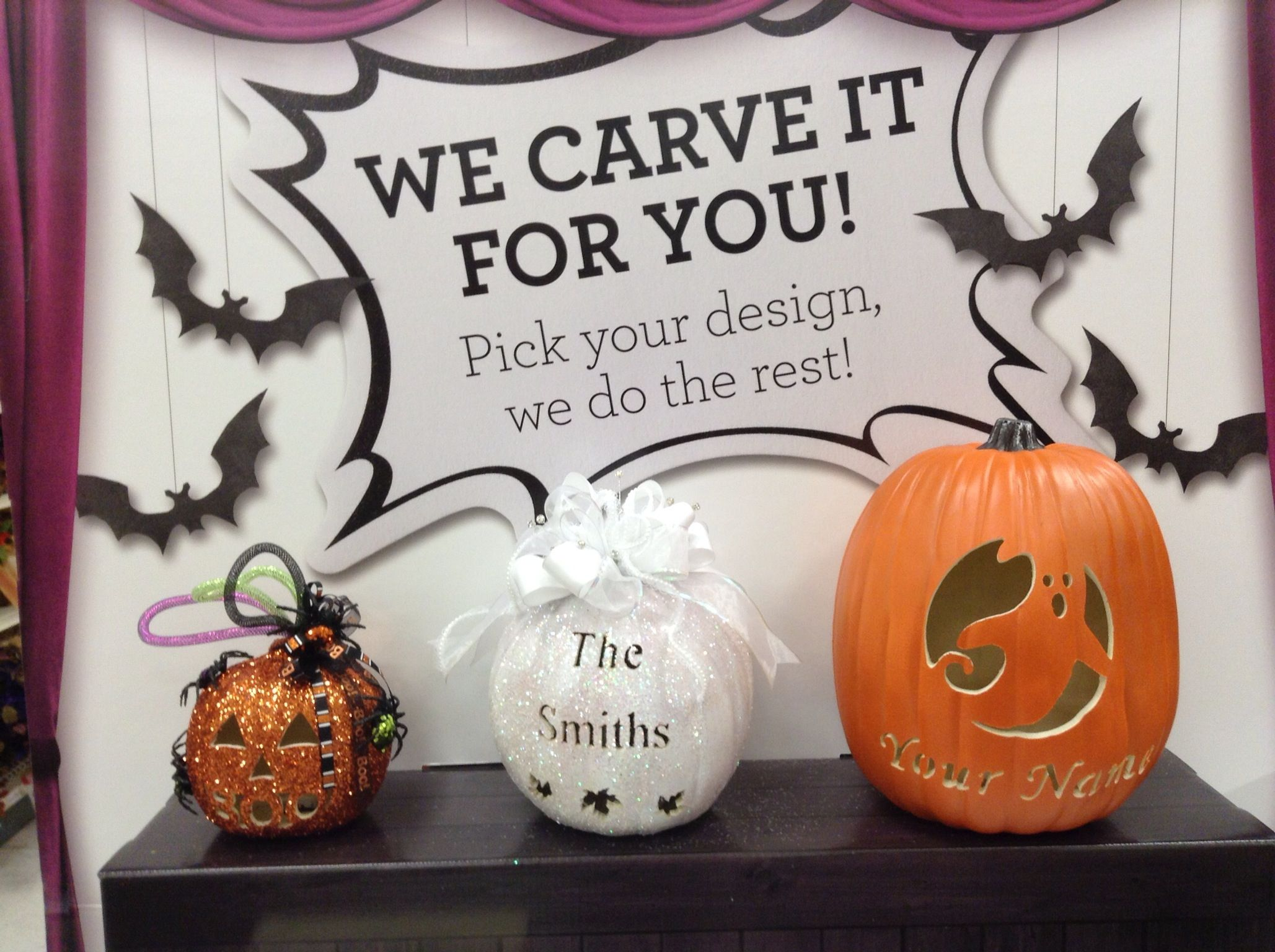 We are now taking orders at your local Michaels store neer you  Or - michaels halloween decorations