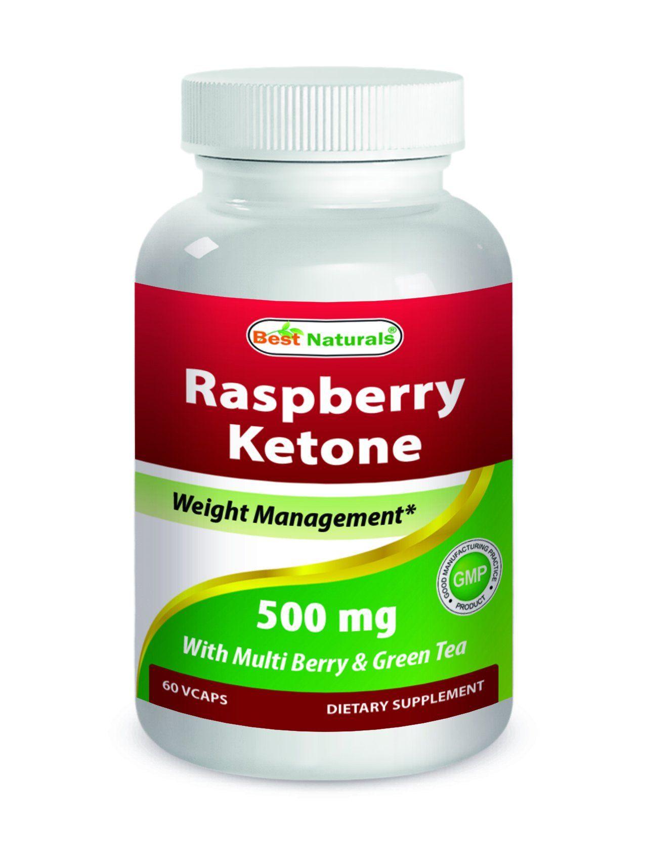 Best Naturals Raspberry Ketone 500mg 60 Veggie Capsule Click Image