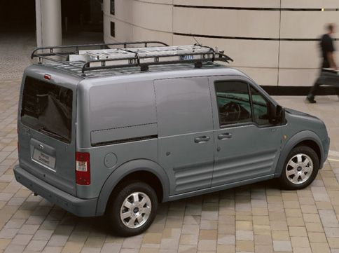 Ford Unveils New Transit Van At Auto Show Ford Transit Ford Vans