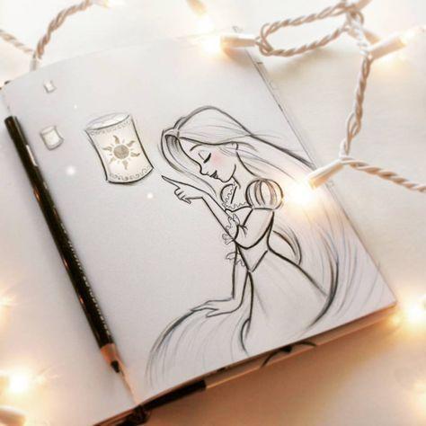 Photo of Meine Disney Zeichnung Und schließlich sehe ich das Licht rapeux rapunzel beautyskin