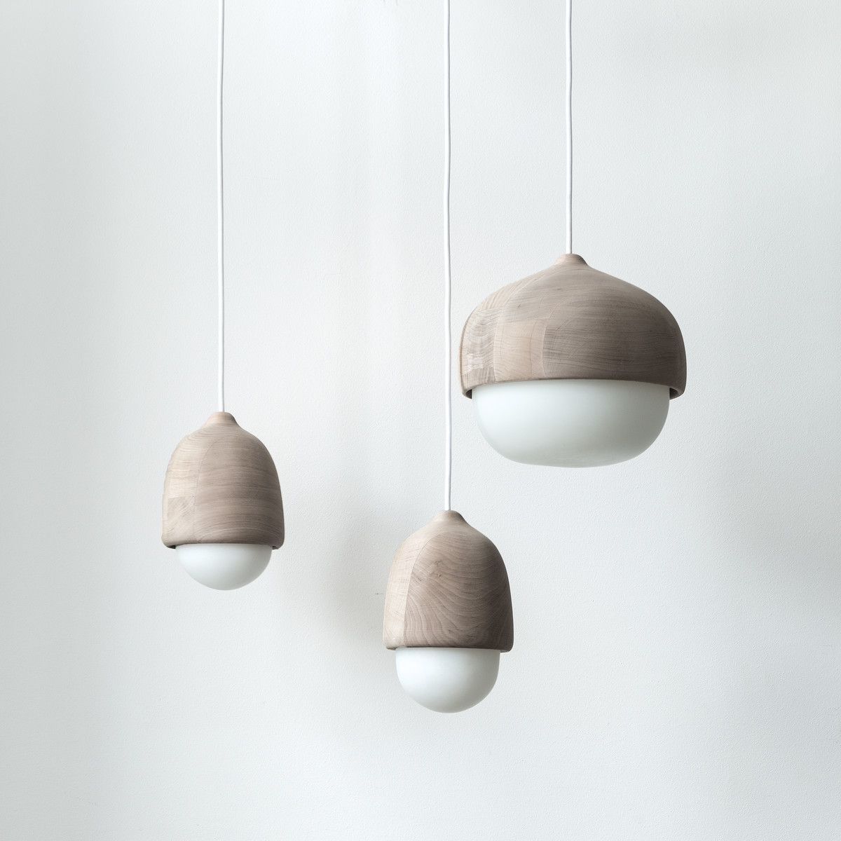 Terho Wood Pendant Lamp By Mater In The Shop Pendelleuchte Holz Pendelleuchte Lampendesign