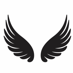 Pin On Angel Wings Svg