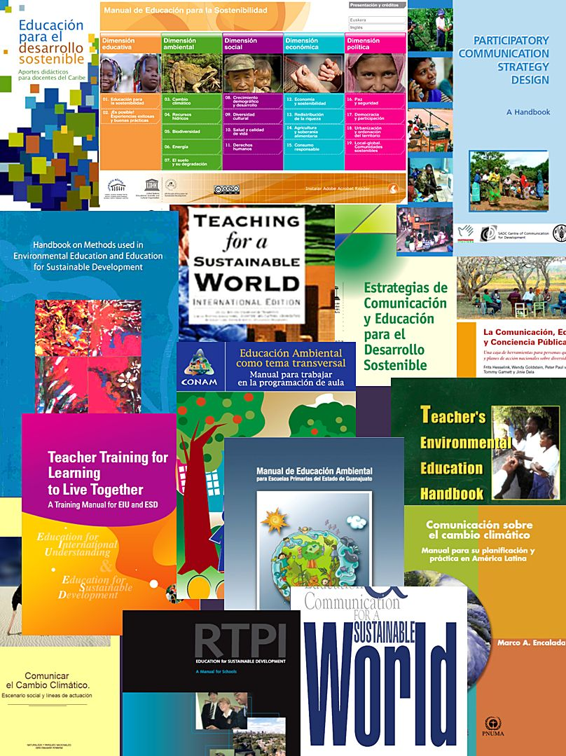 30 Manuales De Educación Ambiental Con Descripciones