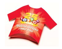 LOTTO - 25 Years Celebration T-Shirt Pack by Mat Bogust, via Behance