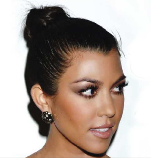 Kourtney Kardashian Hair Makeup Perfect Hair Makeup