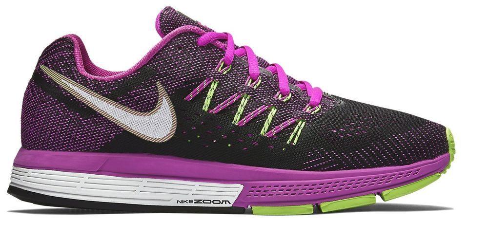 bb0cb477a Women's Nike Air Zoom Vomero 10 Size 9 Running Shoes Black Fuchsia 717441  NEW #Nike