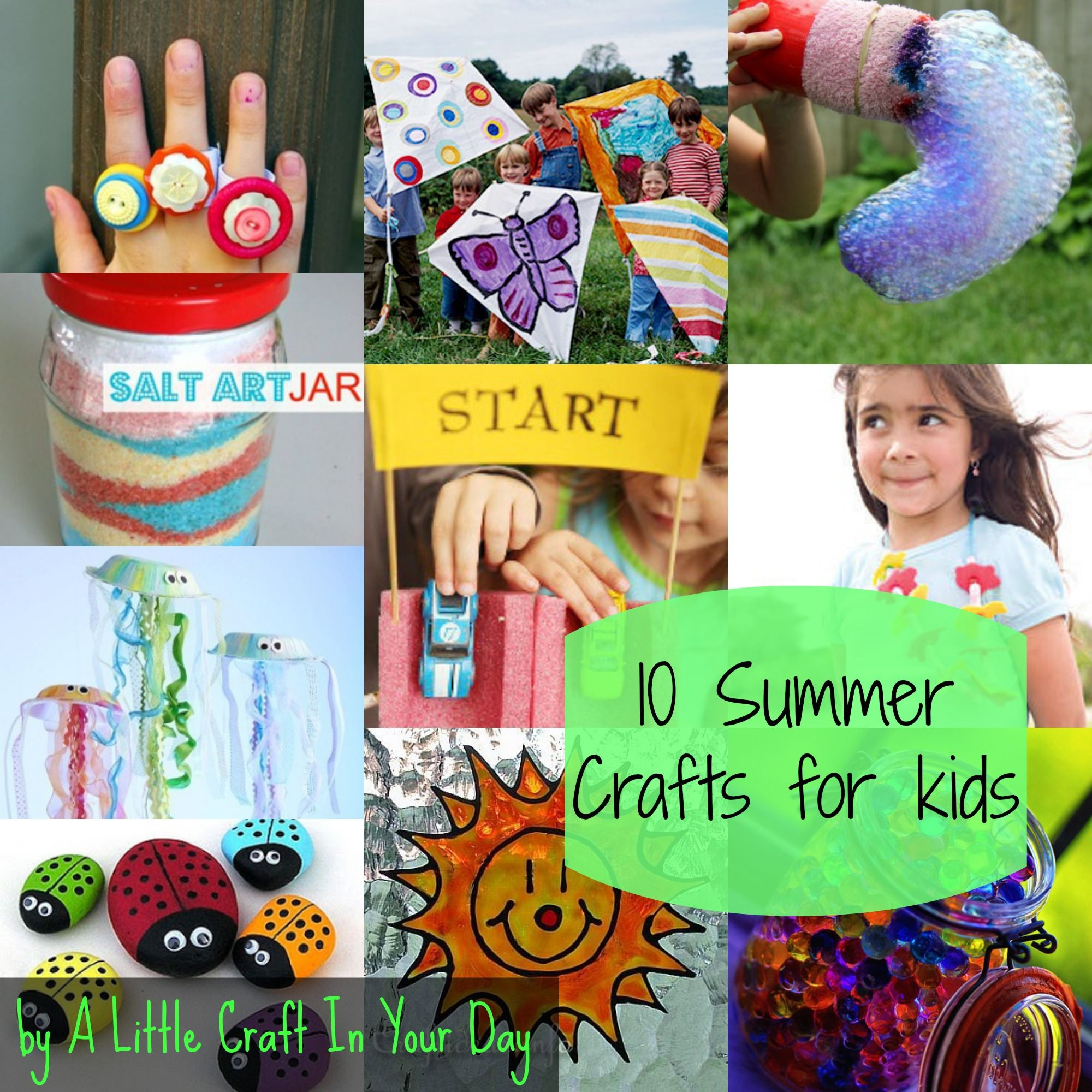 Photo of Kid Friendly Summer Crafts – A Little Craft In Your Day