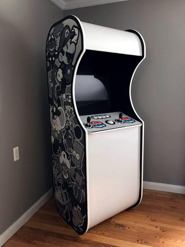 built a mame cabinet arcade mame cabinet retro arcade arcade room rh pinterest com
