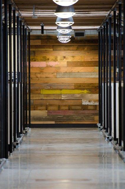 Wood panel wall paredes madera Pinterest Madera