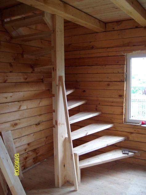 Pin de marnaram en escaleras escalera casa escaleras y - Escalera caracol de madera ...