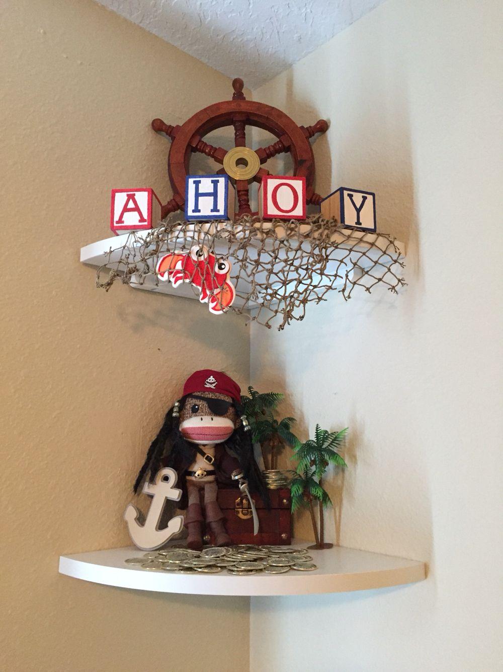 Pirate / nautical nursery decor Home Sweet Home