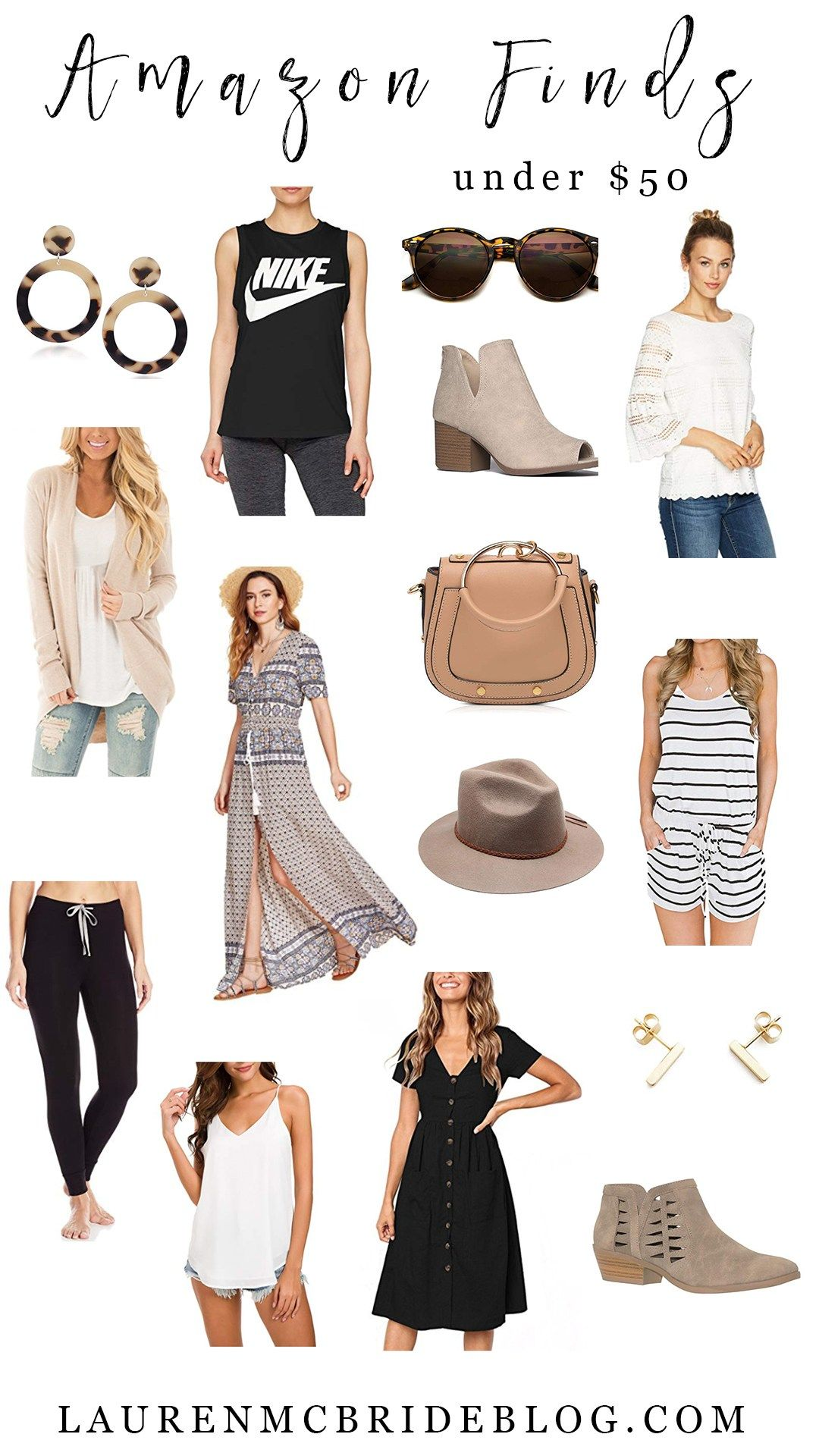 August Amazon Finds Under 50 Lauren Mcbride Amazon Fashion Clothing Fashion Fashion Blogger
