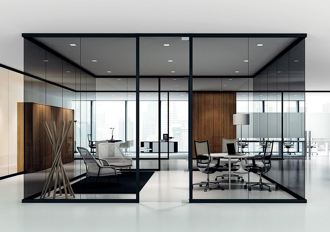 Neocon preview 2014 partitions dividers glass interiors and commercial Interior glass partition systems