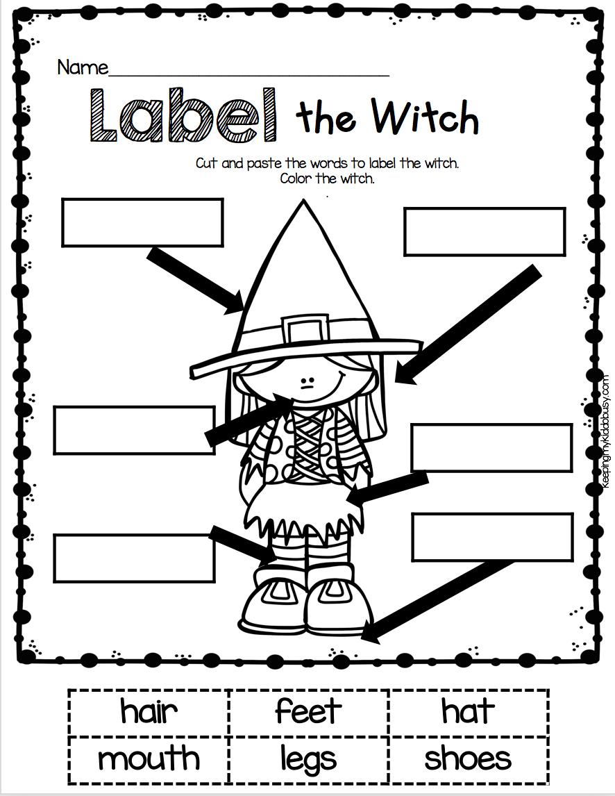 October Math And Literacy Pack Freebies Keeping My Kiddo Busy Halloween Kindergarten Halloween Preschool Halloween School [ 1146 x 886 Pixel ]