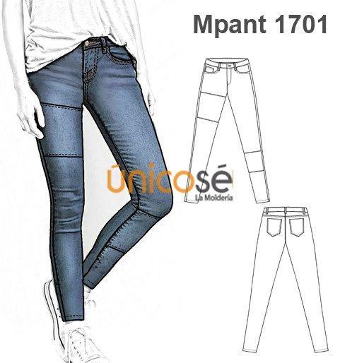 Moldes Unicose Pantalones Ajustados Moda Pantalones