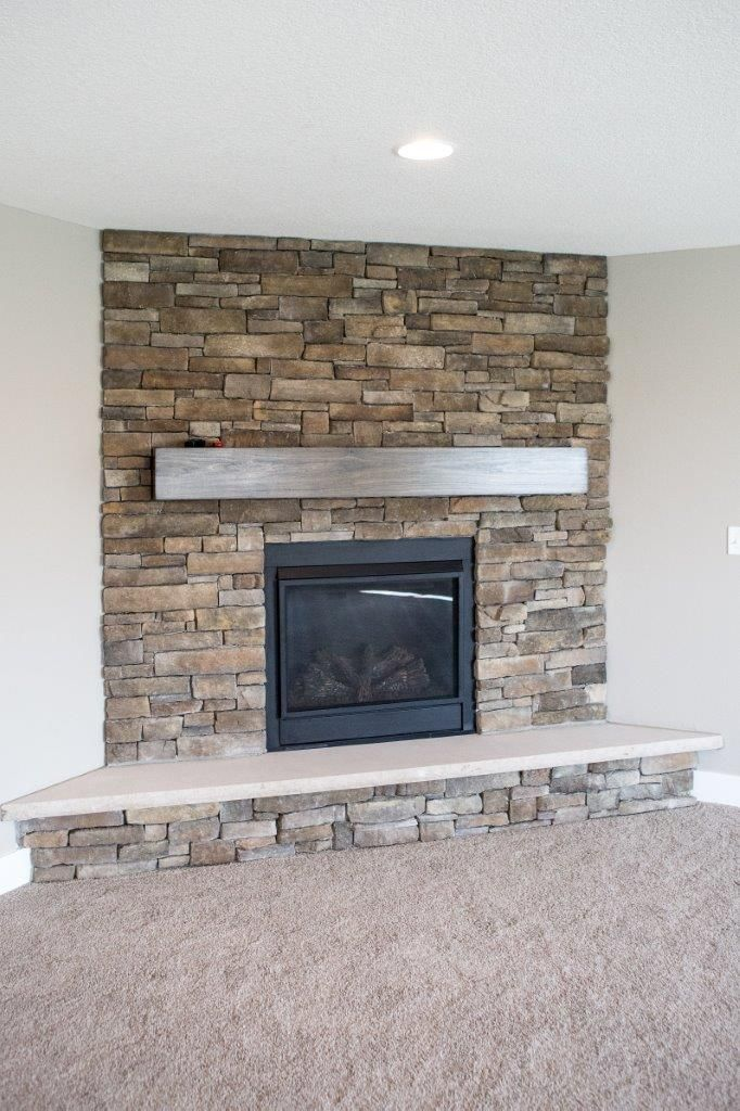 electric fireplace with bench with sierra mountain ledge stone rh pinterest com