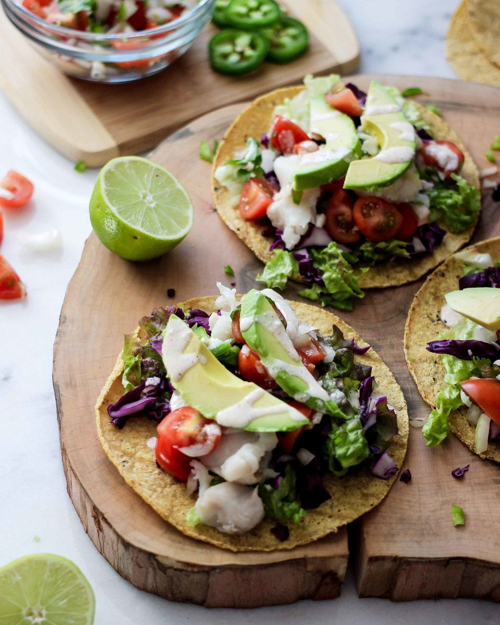 Authentic Mexican Baja California Fish Tacos Recipe With
