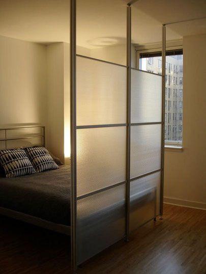 translucent room dividers ideas room diy room divider divider rh pinterest com