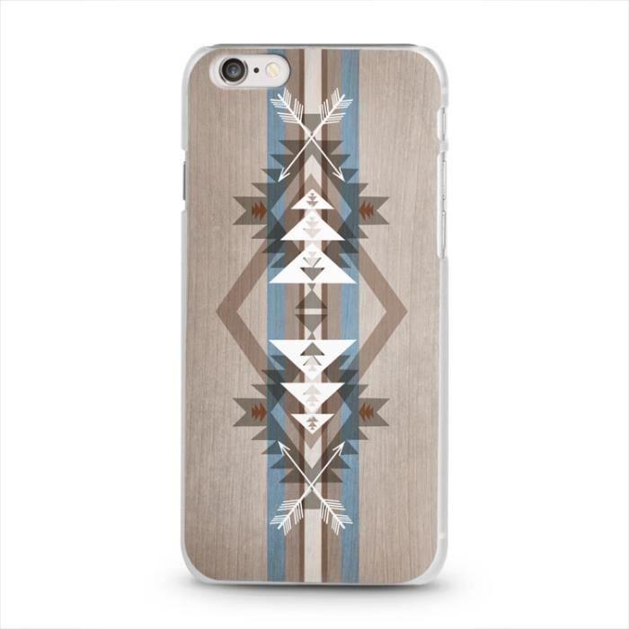 coque iphone 6 bois 1 aztec indien chevron bleu achat vente coque iphone 6 bois 1 aztec. Black Bedroom Furniture Sets. Home Design Ideas