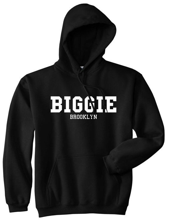 Kings of NY Biggie Brooklyn Pullover Hoody Sweatshirt Smalls Hiphop  Notorious BIG Black Rap Music Grey Red White Diddy BK New York Street by  KINGSOFNY on ... 9f9f8a565