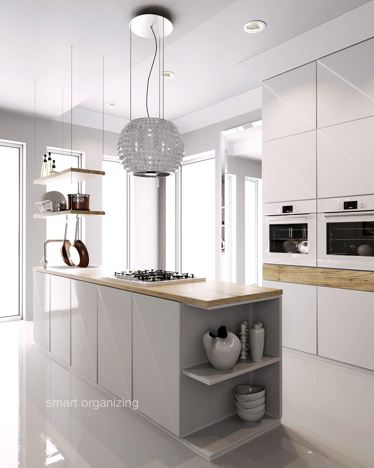 Kitchen design u0026 visualization on Behance Kitchen