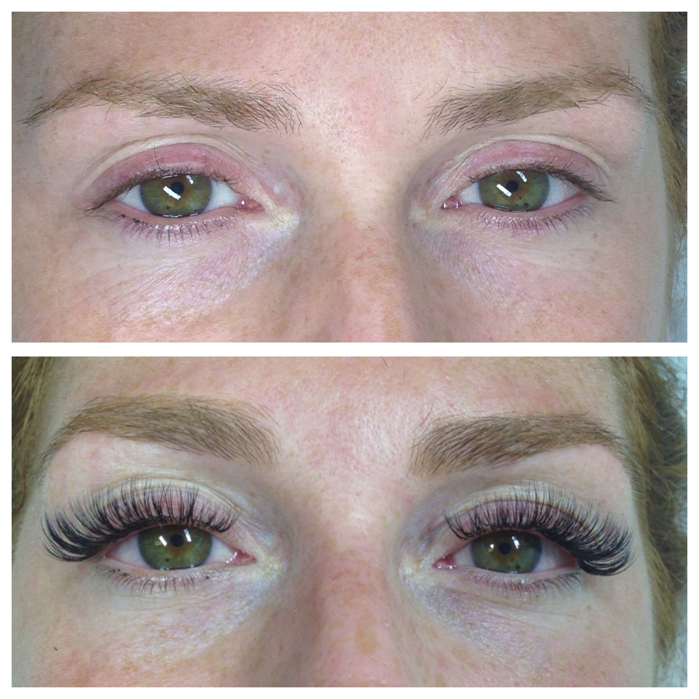 Eyelash extensions, before and after | M A K E U P ...