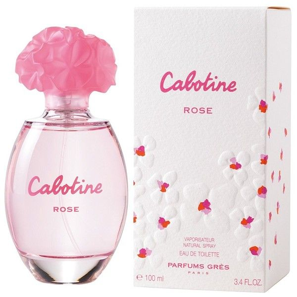 Cabotine Rose By Parfums Gres For Women. Eau De Toilette Spray 3.4... ($49) ❤ liked on Polyvore featuring beauty products, fragrance, parfum fragrance and perfume fragrance