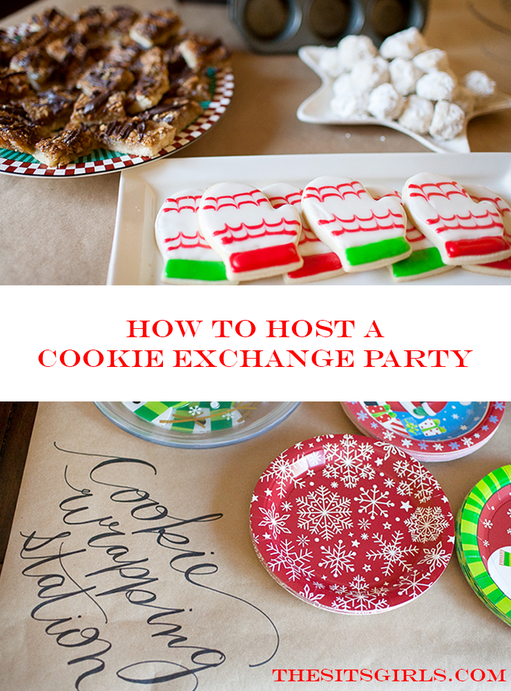 How To Host The Perfect Cookie Exchange Party Christmas Cookie Exchange Party Ideas Holiday Cookie Exchange Party Holiday Cookie Party