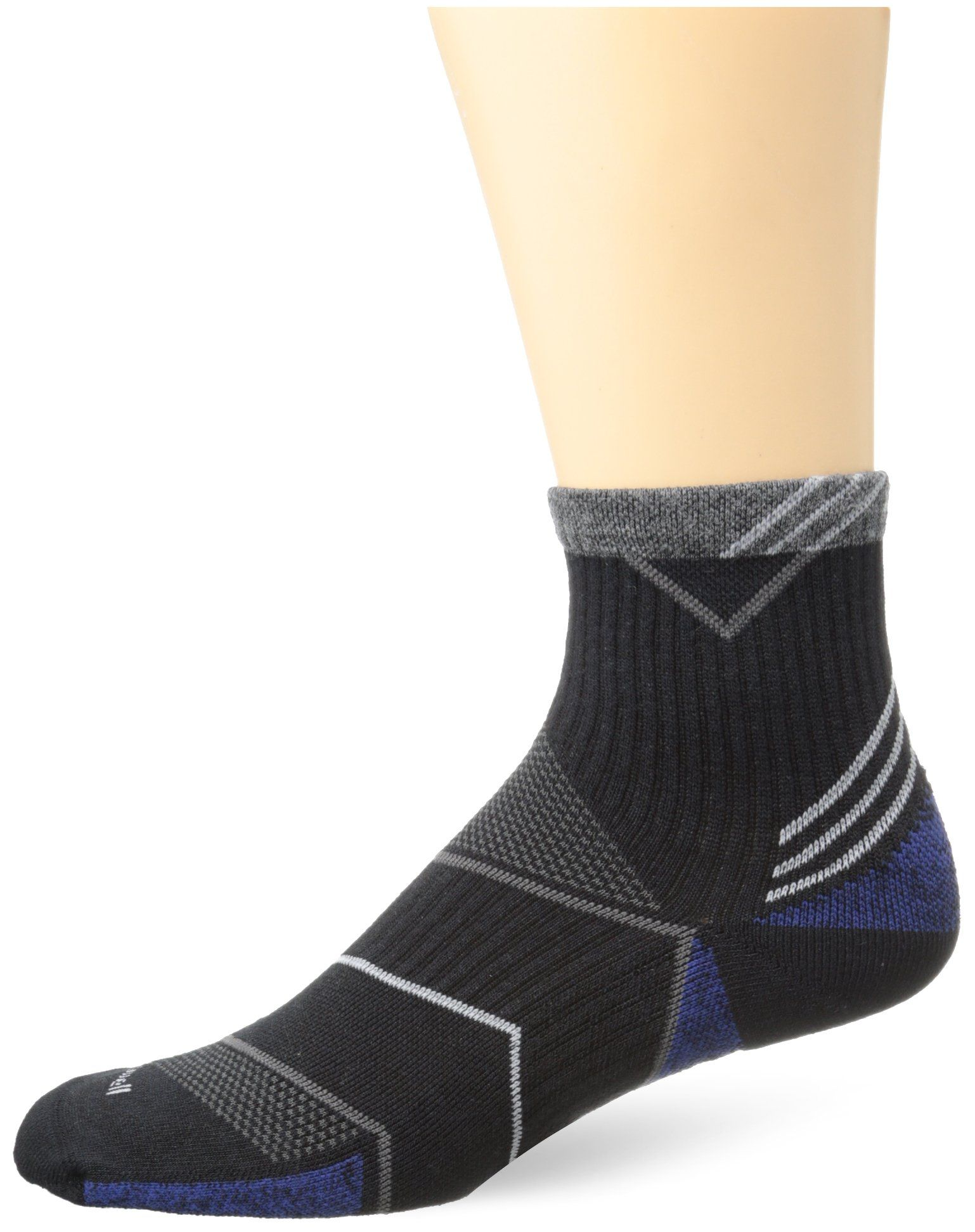 da2d9bf310f24 Sockwell Men's Incline Quarter Graduated Compression- Ideal for Running,  Sports and Fitness activities,
