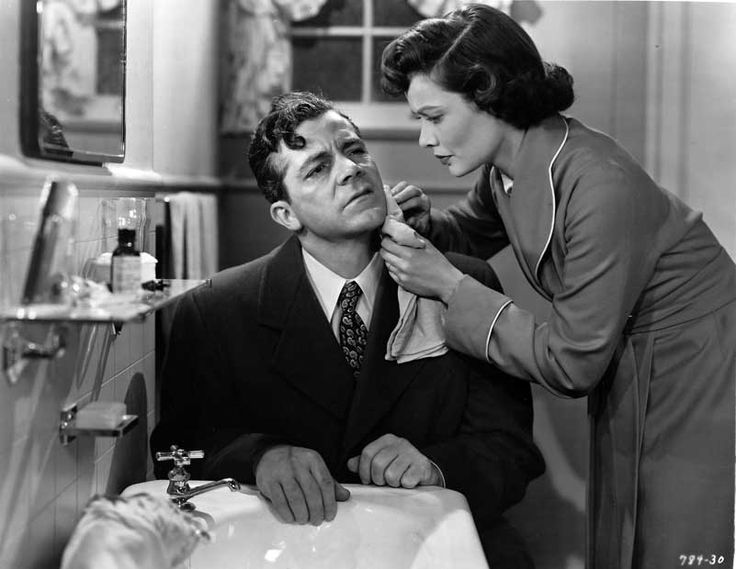 Image result for where the sidewalk ends gene tierney and dana andrews