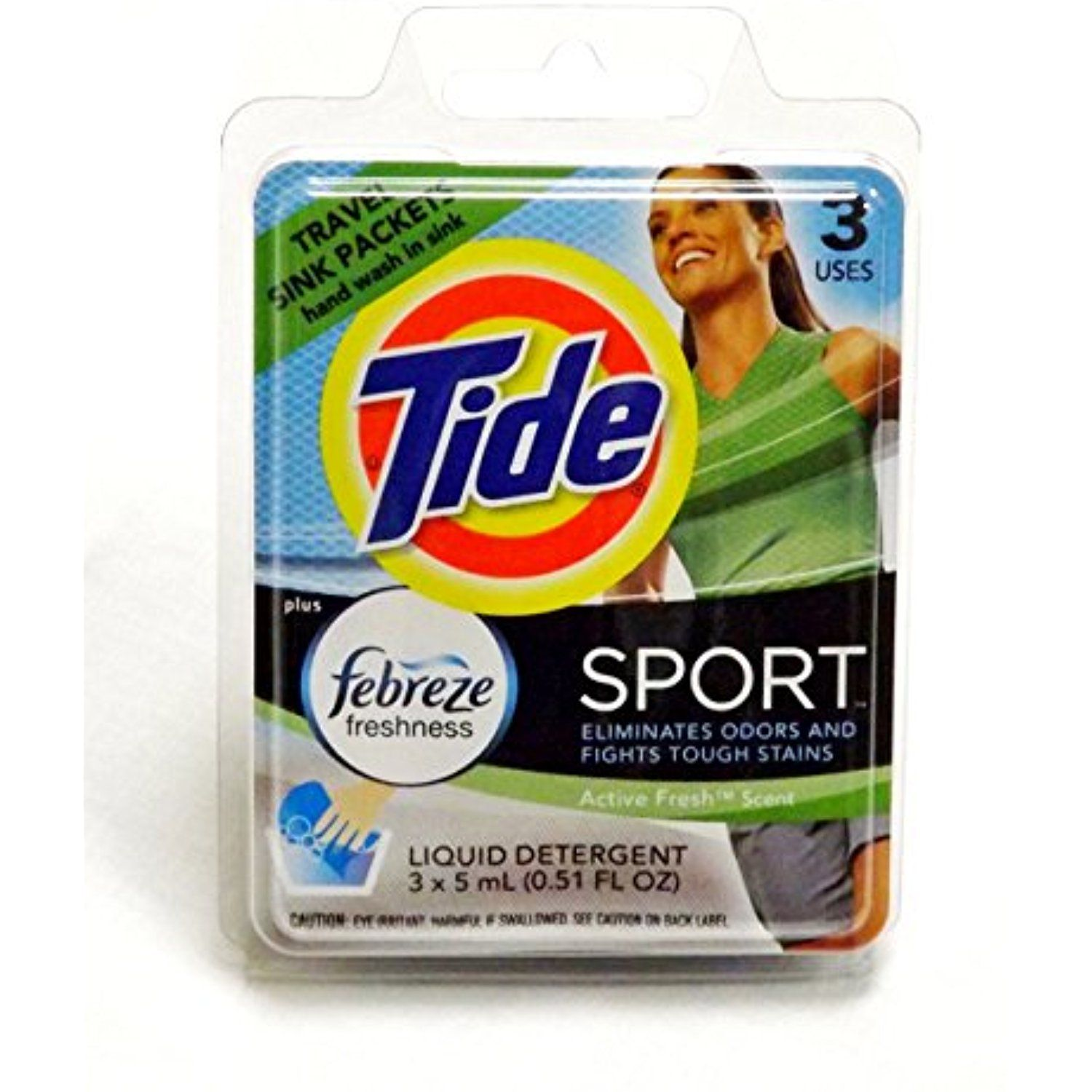 Tide Sport Travel Sink Packets (6) * Continue to the