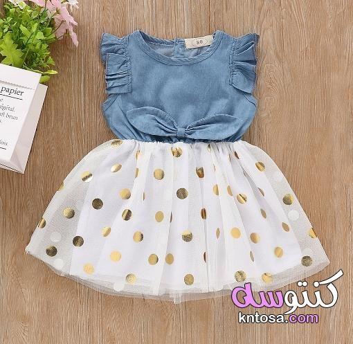 اجمل ملابس الاطفال البيبى ملابس اطفال بيبي بنات ملابس بيبي بنات حديثي الولادة ملابس بنات Kntosa Baby Girl Dress Patterns Baby Frocks Designs Dresses Kids Girl