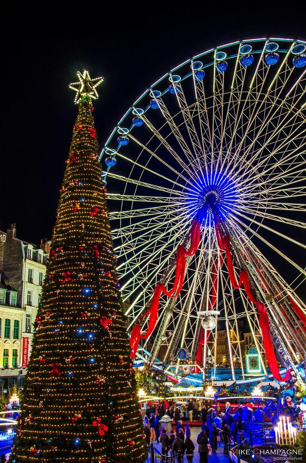 Grande Roue, Place du GénéraldeGaulle à Lille by Mike