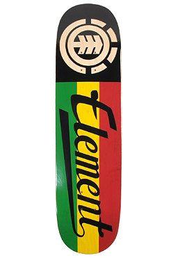 2b3275e4 Element skateboard rasta colors | Skateboarding | Element skateboard ...