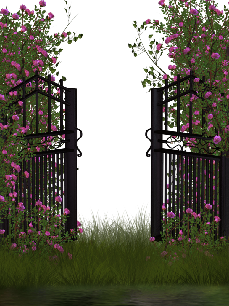 Rose Garden Anime: Entrance To Rose Garden By Collect-and-creat On DeviantArt