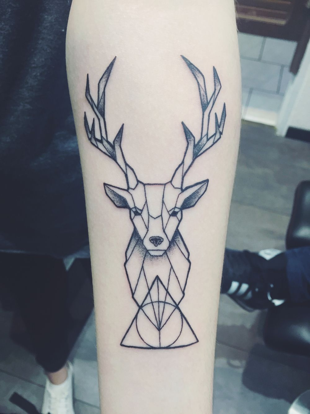 Cerf Tatouage Tatouages Tatuaje Venado Tatuaje Ciervo Y Tatuaje