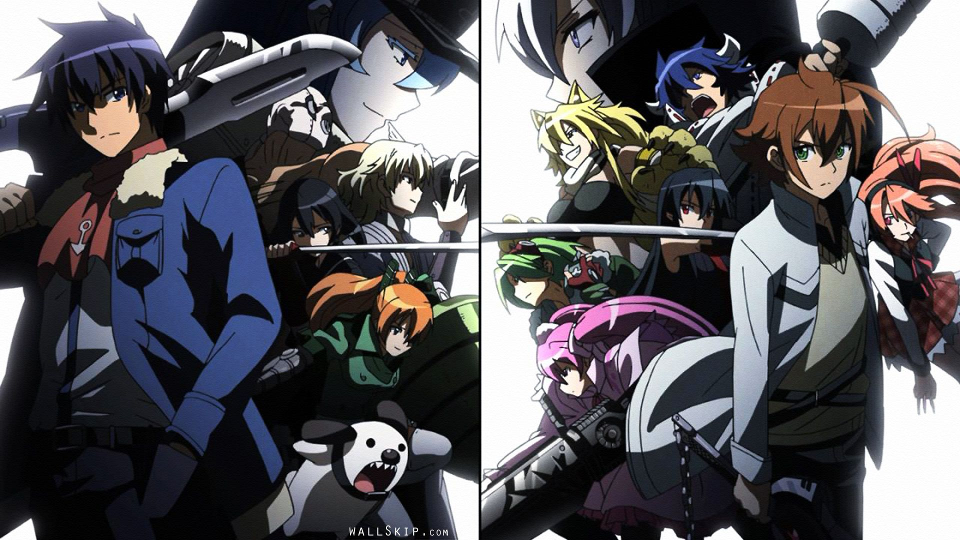 Akame Ga Kill The Jeagers X Night Raid Akame Ga Akame Ga Kill